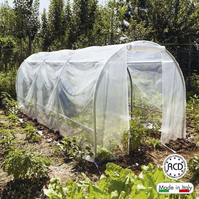 Verdemax serre per orto faregiardini for Archi per serre da orto