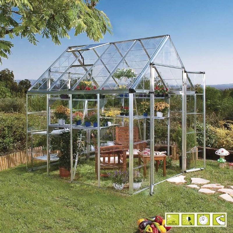 Verdemax serre per giardino faregiardini for Serre da giardino policarbonato