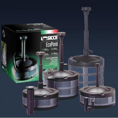 Sicce eco pond pompe per laghetti con filtro faregiardini for Pompe per laghetti artificiali