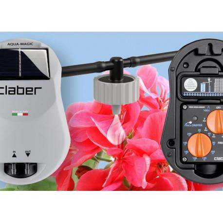 Claber claber aqua magic system per l 39 irrigazione di for Irrigazione orto claber
