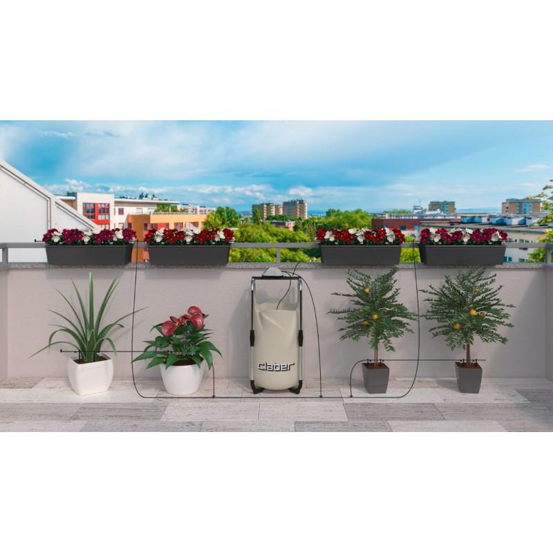 Claber claber aqua magic system per l 39 irrigazione di for Sistema di irrigazione per vasi