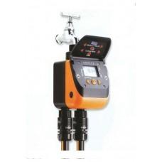 Programmatori a batteria da rubinetto faregiardini for Programmatore irrigazione a batteria claber