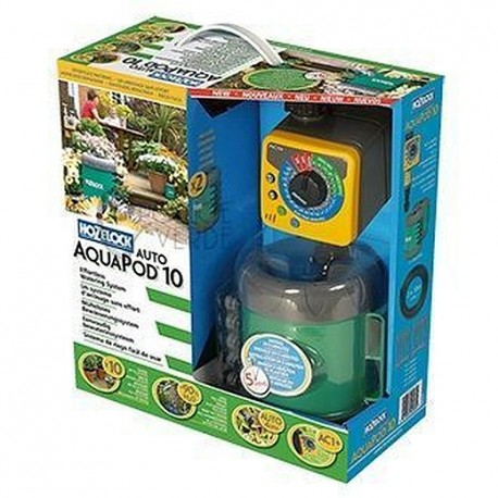 Kit aquapod 10 hozelock for Irrigazione piante