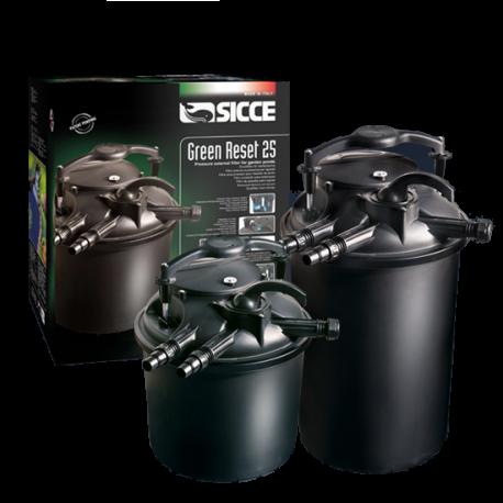 Sicce green reset filtri a pressione per laghetti for Filtro per laghetto autocostruito