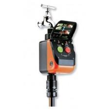 Claber Aquauno Pratico Plus - Programmatore a Batteria da collegare al rubinetto
