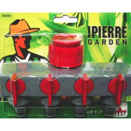 Ipierre - Distributore 4 vie Ipierre in plastica